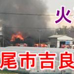 速報|西尾市吉良町の火災場所は饗庭!火事周辺の画像・動画・被害状況まとめ