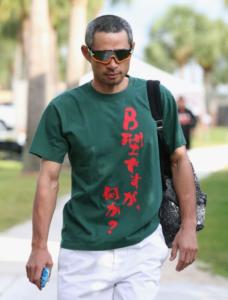イチローTシャツ『B型ですが何か?』