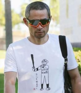 イチローTシャツ『守りも固めやし』
